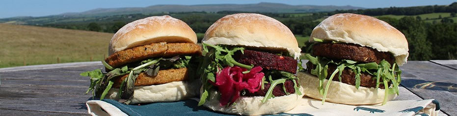 A wide selection of delicious organic meat alternatives to give you a perfectly plant based BBQ.
