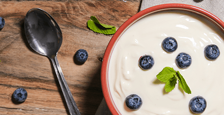 Award-winning, creamy organic yoghurt high in A2 protein made from organic milk from Guernsey cows.