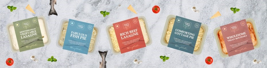 Ready meals made with fresh organic ingredients, lovingly made in the South West.