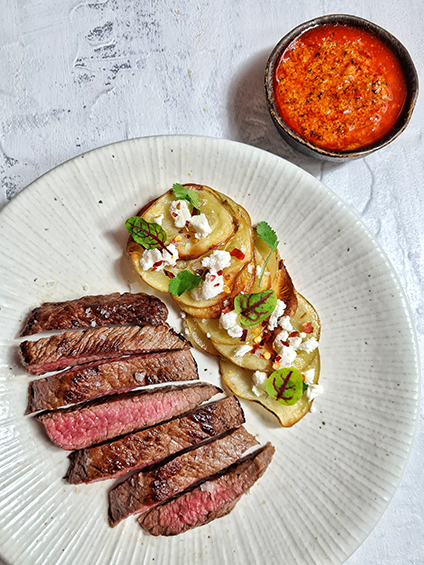 organic beef skirt steak recipe meat box delivery bucther's week