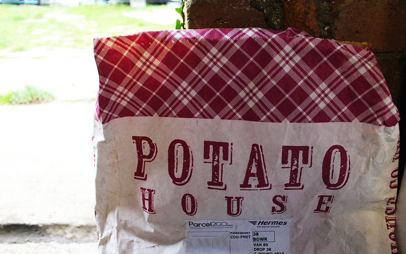 Potato House Organic Seed Potatoes Branding Bag