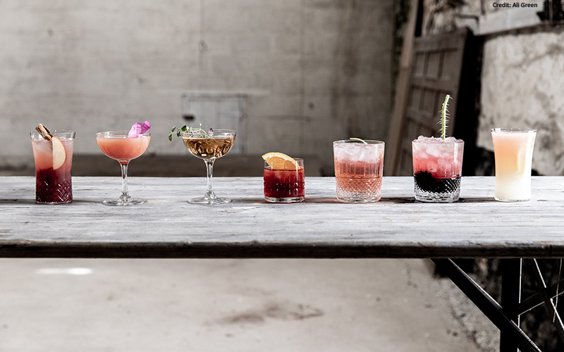 organic gin cocktails recipe, summer barbecue drinks