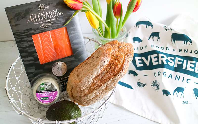 organic breakfast bundle mother's day gifts