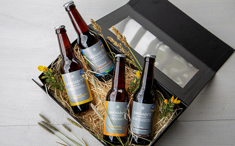organic gift sets for fathers day barnaby's brewhouse