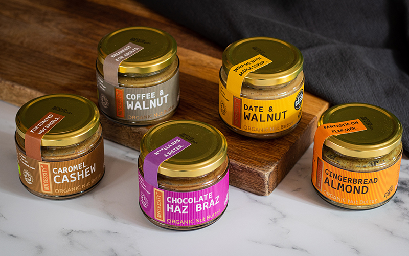 organic plant-based nut butters from nutcessity