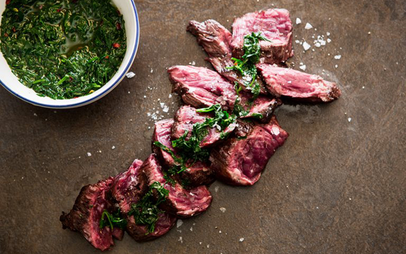organic grass-fed beef onglet steak meat delivery uk