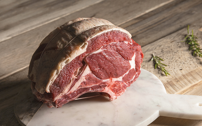 grass-fed, organic rib of beef uk meat boxes