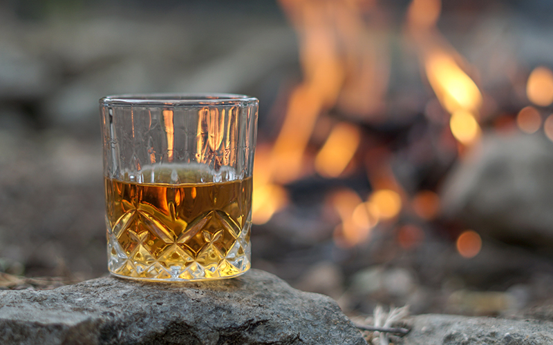 Organic Whisky Glass for Burns Night