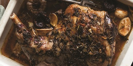 Organic lamb recipe - slow roast lamb shoulder