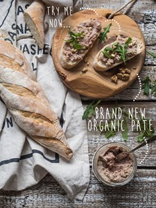 Organic pates and rilettes - organic meat delivery