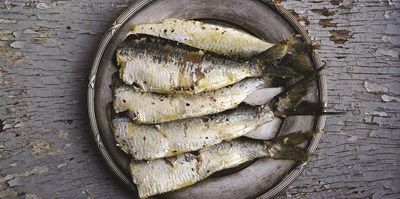 Wild sustainable fish recipes - Grilled sardines