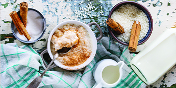 Organic jersey milk cream rice pudding recipe