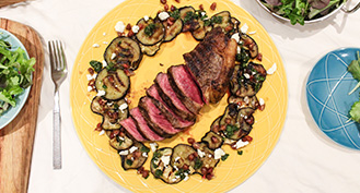 Organic Sirloin Steak Valentines Day