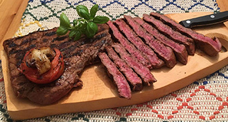 Organic, grass feed beef minute steaks