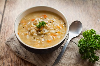 Organic Christmas Turkey Leftovers Soup recipe