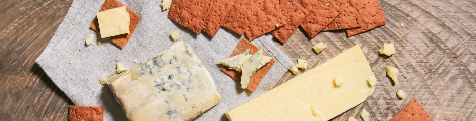 Organic cheese, organic charcuterie for sharing