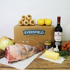 Smoked Leg of Lamb Easter Banquet Box   Organic Meat Box Delivery