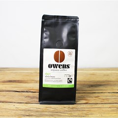 Organic Owens Coffee Whole Beans
