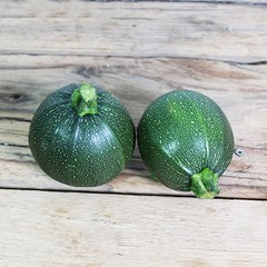 Round Courgettes x 2 | Organic Fruit & Vegetables