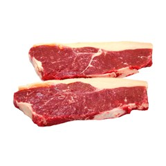 Beef Sirloin Steaks, 35 Day Dry Aged, Frozen | Organic Grass Fed Beef