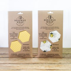 Bees Wax Wraps - Assorted | Environmentally Kind Homeware