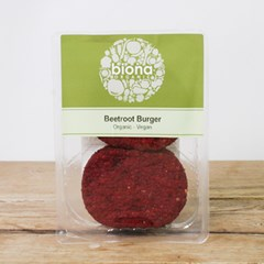 Biona Beetroot Burger | Organic Groceries