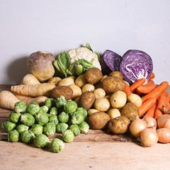 Christmas Organic Veg Box