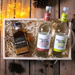 Festive Spice Gin Gift Box | Christmas Gift Box