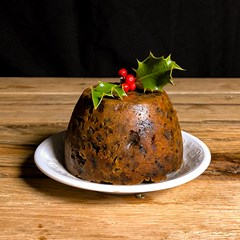 Large Organic Christmas Pudding