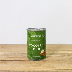 Clearspring Coconut Milk | Organic Groceries