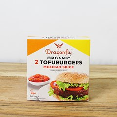 Dragonfly Mexican Spice Burger | Organic Groceries