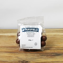 Eversfield Organic Milk Chocolate Hazelnuts | Organic Dried Goods