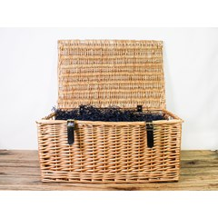 Wicker Gift Hamper | Organic Gifts