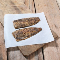 Sustainable Wild Smoked Peppered Mackerel