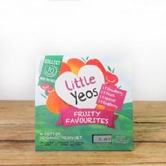 Yeo Valley Little Yeo Fruity Favourites | Organic Dairy