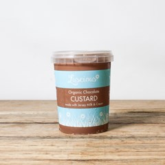 Luscious Chocolate Custard | Organic Cream and Dairy