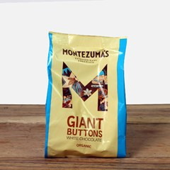 Giant Buttons White Chocolate | Organic Chocolate
