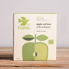 Apple & Sultana Oat Bars (4 Bars) | Organic Bread