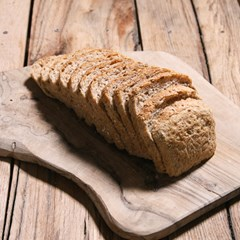 Organic sliced seeded spelt loaf