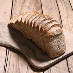 Organic sliced wholemeal bread