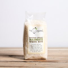 Mr Organic Basmati White Rice