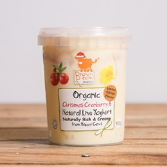 Organic Natural Yoghurt with Christmas Cranberry