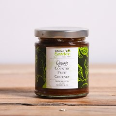 Kitchen Garden Country Fruit Chutney | Organic Chutney and Sauces