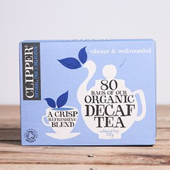 Organic decaf tea