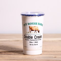 Ivy House Jersey Double Cream | Organic Cream and Dairy