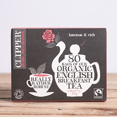 Organic Breakfast Tea, Clipper Tea