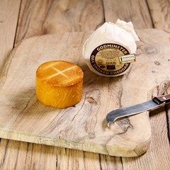 Godminster Vintage Oak-Smoked Cheddar | Organic Cheese
