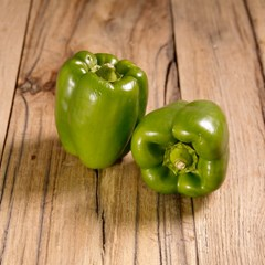Green Peppers x2 | Organic Fruit & Vegetables