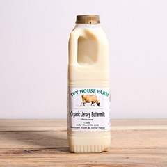 Jersey Cream Buttermilk | Organic un-homogenised milk