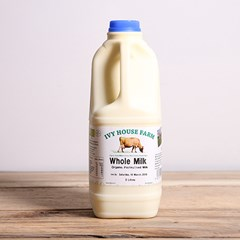 Ivy House Jersey Whole Milk | Organic unhomogenised milk